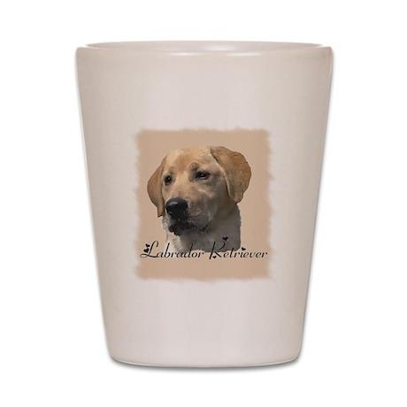 Labrador Retriever Shot Glass