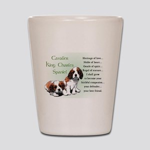 Cavalier King Charles Shot Glass