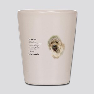 Labradoodle Love 1 Shot Glass