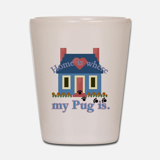 Pug Lover Gifts Shot Glass