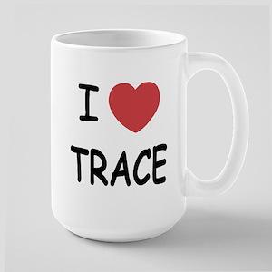 I heart Trace Large Mug