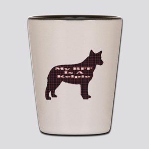 BFF Australian Kelpie Shot Glass