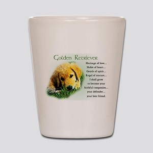 Heritage of Love_Golden Puppy Shot Glass