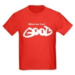 Are You Good or Evil? Kids Dark T-Shirt