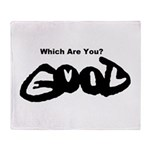 Are You Good or Evil? Throw Blanket