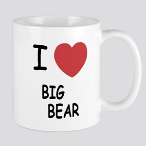 I heart big bear Mug