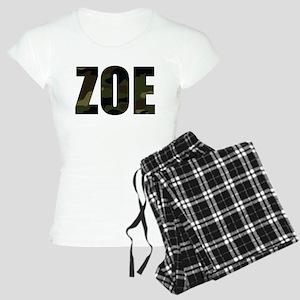Camo Zoe Women's Light Pajamas