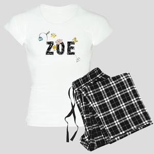 Zoe Floral Women's Light Pajamas