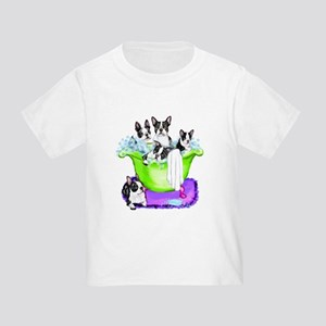 Boston Terrier TubFull Toddler T-Shirt