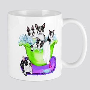 Boston Terrier TubFull Mug