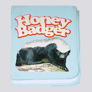 Honey Badgers baby blanket