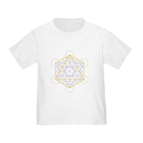 toddler T-shirt - octahedron
