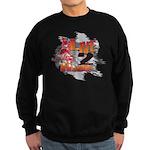 Live 2 Ride Sledder / Snowmobiler Sweatshirt (dark