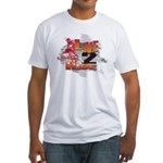 Live 2 Ride Sledder / Snowmobiler Fitted T-Shirt