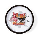 Live 2 Ride Sledder / Snowmobiler Wall Clock