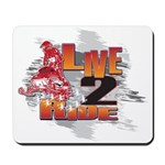 Live 2 Ride Sledder / Snowmobiler Mousepad