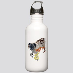 Snakes on a Pug Stainless Water Bottle 1.0L