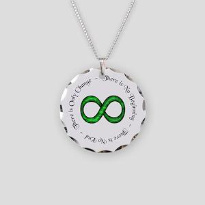 Infinite Change Necklace Circle Charm