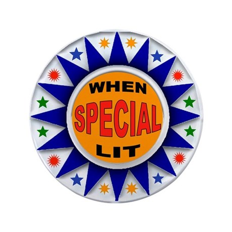 "TOP SCORE 3.5"" Button (100 pack)"