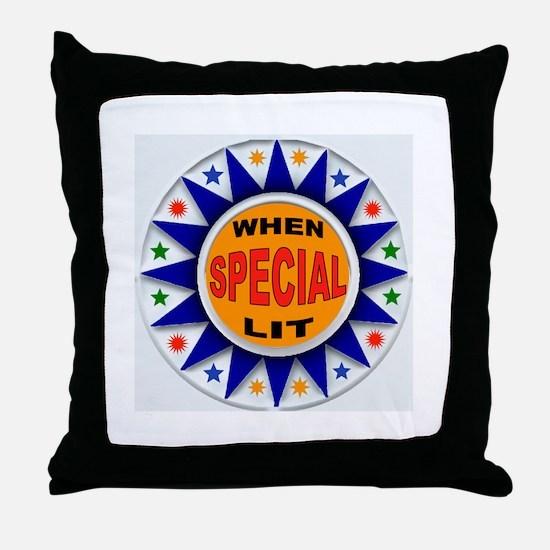 TOP SCORE Throw Pillow