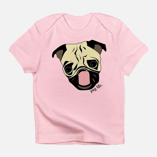 Color Me Pug Life Infant T-Shirt