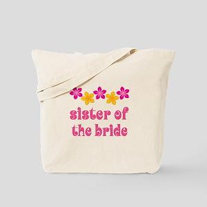 Sister of the Bride Hawaiian Tote Bag