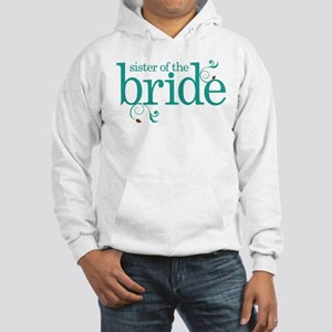 Sister of the Bride Swirl Hooded Sweatshirt