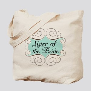 Sister of the Bride Beautiful Tote Bag
