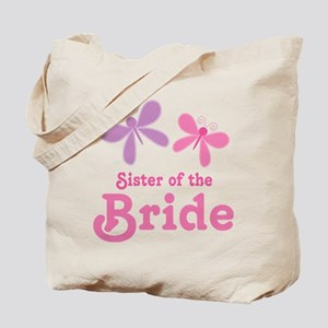 Sister of the Bride Butterflies Tote Bag