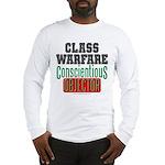 No Class Warfare Long Tee