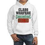 No Class Warfare Hooded Sweat