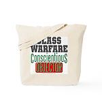 No Class Warfare Tote Bag