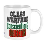 No Class Warfare Mug