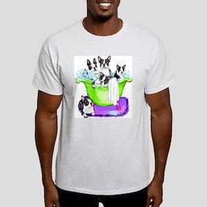 Boston Terrier TubFull Light T-Shirt