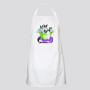 Boston Terrier TubFull BBQ Apron