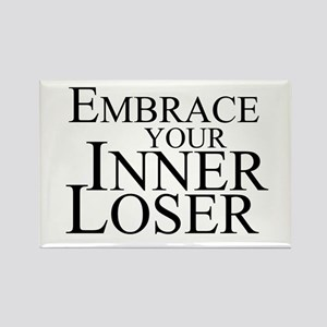 Embrace Your Inner Loser Rectangle Magnet