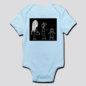 Pooped on Dad-one daughter Infant Bodysuit