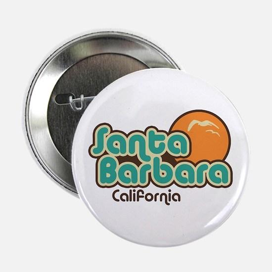 """Santa Barbara California 2.25"""" Button"""
