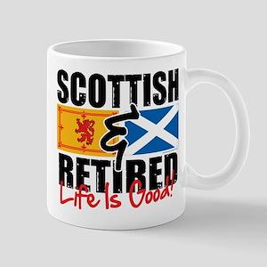 Scottish & Retired Mug