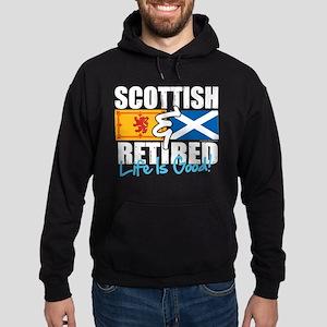 Scottish & Retired Hoodie (dark)