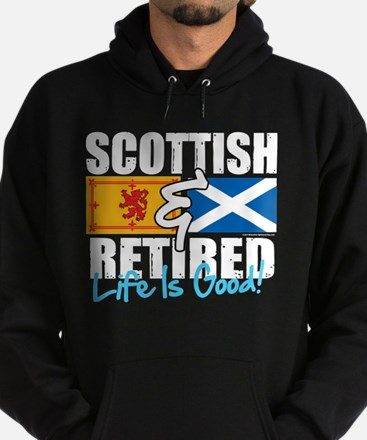 Scottish & Retired Hoodie (dark)