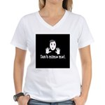 Don't Mime Me! Women's V-Neck T-Shirt