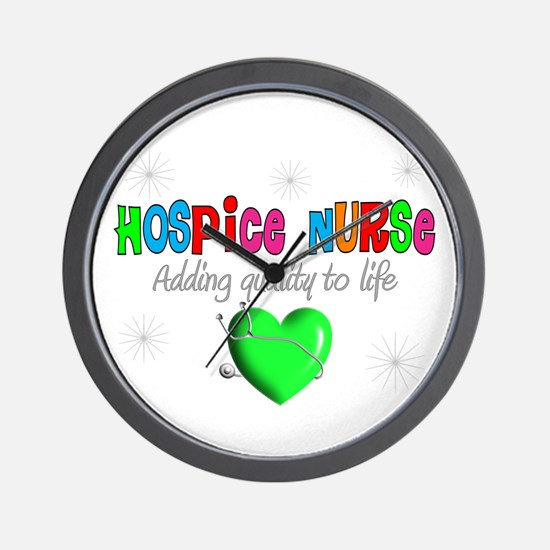 HOSPICE Wall Clock