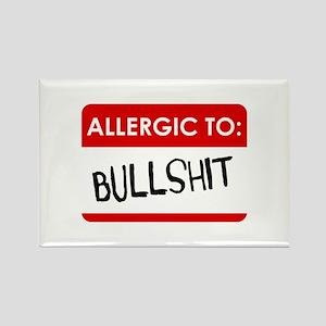 Allergic To Bullshit Magnets