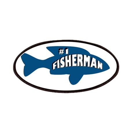 Number One Fisherman Patches