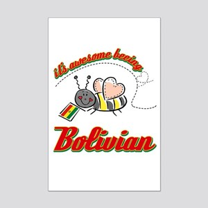 Awesome Being Bolivian Mini Poster Print