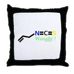 Wasabi molecularshirts.com Throw Pillow