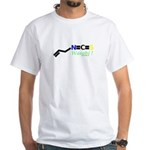 Wasabi molecularshirts.com White T-Shirt