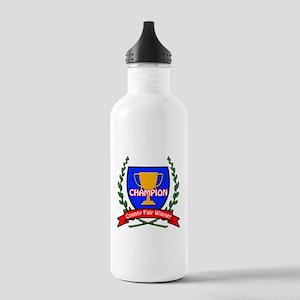 County Fair Winner Stainless Water Bottle 1.0L