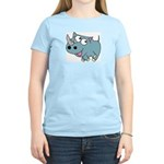 Cute Rhino Women's Light T-Shirt